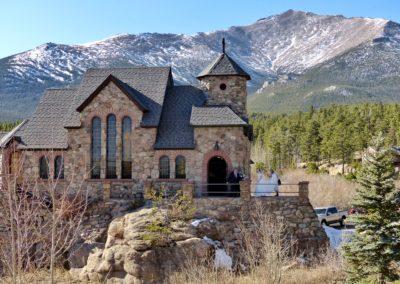 Chapel and Mt. Meeker